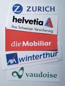 Versicherungs-Logos